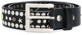 Diesel studded belt - men - Leather - 85