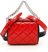 Alexander McQueen Quilted Patent Box Bag 19