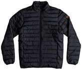 Quiksilver Mid-Season Short Padded Jacket with High Neck