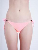 Heidi Klein Hollywood towelling bikini bottoms