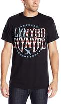 FEA Men's Lynyrd Skynyrd Stripes and Stars Vintaged Logo T-Shirt