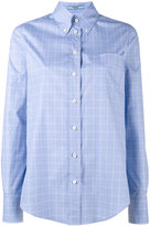 Prada button down checked shirt