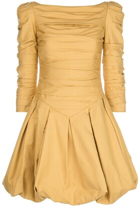 KHAITE Minnie pleated dress