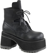 Demonia Ranger 102 Lace-Up Platform Ankle Boot (Women's)
