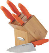 Rachael Ray 6-pc. Japanese Stainless Steel Knife Set