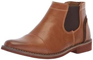 Deer Stags Boys' Marcus Memory Foam Dress Comfort Cap Toe Chelsea Boot