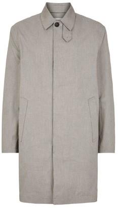 Saint Laurent Check Overcoat