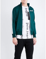 Palm Angels Logo-print jersey track jacket