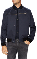 Balenciaga Zip Trim Bomber Jacket