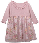 Iris & Ivy Baby Girls Floral Mesh Dress