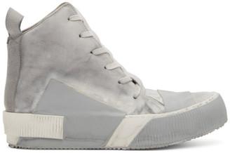Boris Bidjan Saberi Grey Bamba 1 Sneakers