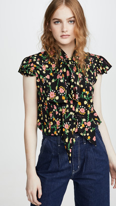 Marc Jacobs The Bow Blouse