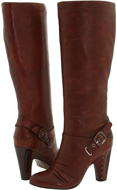 Frye Bethany Strappy Softie (Saddle Leather) - Footwear