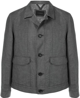 Durban Single-Breasted Shirt Jacket