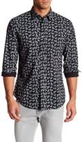 Slate & Stone Bicycle Print Regular Fit Shirt