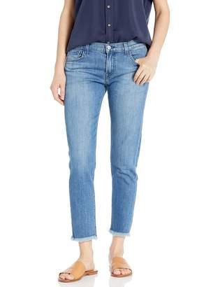 J Brand Jeans Women's Sadey Mid Rise Slim Straight