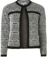 Dorothy Perkins Womens Petite Monochrome Checked Jacket