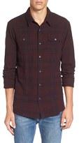 Scotch & Soda Men's 'Rocker' Extra Trim Fit Plaid Flannel Shirt