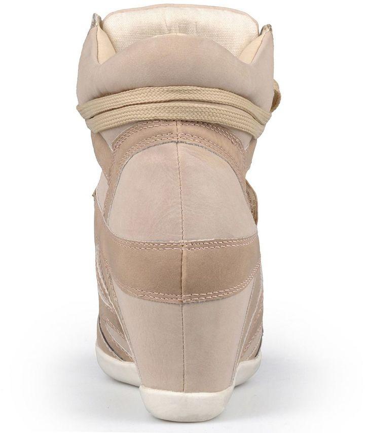 Journee Collection alana wedge sneakers - women