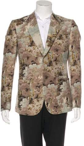 Gucci 2018 Heritage Wool & Mohair Blazer