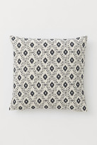 H&M Cotton Canvas Cushion Cover - Gray