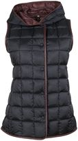 Fay Dark Blue Hooded Down Gilet