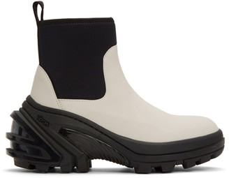 Alyx Off-White Rubber Boots