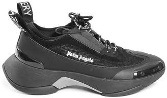 Palm Angels recovery lace-up sneakers black