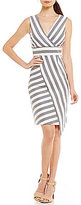 Antonio Melani Sally Striped Woven Dress