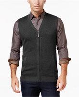 Tasso Elba Men's Big and Tall Zip-Up Texture Vest, Only at Macy's