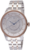 Gevril Columbus Circle 2003B Men's Two-Tone Stainless Steel Swiss Automatic Watch