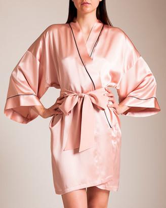 Olivia von Halle Mimi Short Robe
