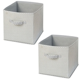 InterDesign Axis Storage Cubes (Set of 2)