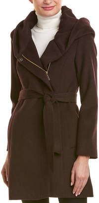 Cole Haan Wool Wrap Coat
