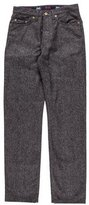 Dolce & Gabbana Virgin Wool Flannel Pants