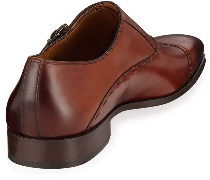 Magnanni Men's Hand Antiqued Leather Dress Shoe