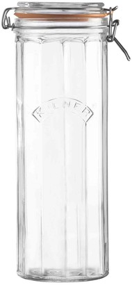 Kilner Facetted Clip Top Jar 2.2L