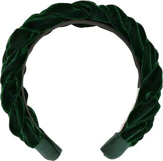 Jennifer Behr Lorelei velvet headband