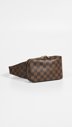 What Goes Around Comes Around LV Damier Ebene Geronimos Waist Bag