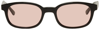 Noon Goons Black and Pink Unibase Sunglasses