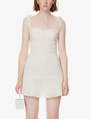 Reformation Maeve organic cotton mini dress