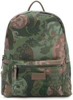 fe-fe camouflage print backpack