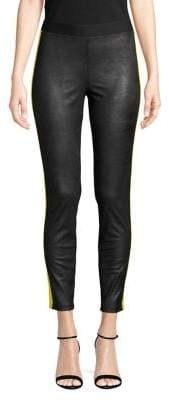 Highline Collective Striped Cropped Leggings