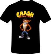 RetroGame Crash Bandicoot, Best Quality Custom Tshirt (XL, )