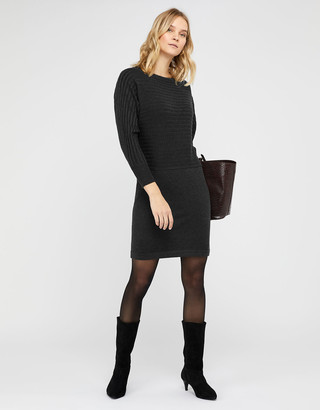 Under Armour Amy Knit Dress with Wool and Recycled Polyester Grey