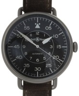 Bell & Ross WW1-92 Military Stainless Steel & Leather Vintage Unisex Watch