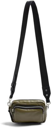 Topshop Mini Leather Crossbody Camera Bag