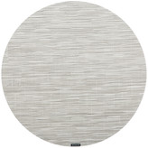 Chilewich Bamboo Round Placemat - Chalk