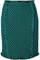 Gianluca Capannolo woven pencil skirt - women - Acrylic/Nylon/Virgin Wool - 38
