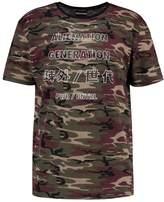 Antioch ALIEN GENERATION JAPANESE Print Tshirt camo